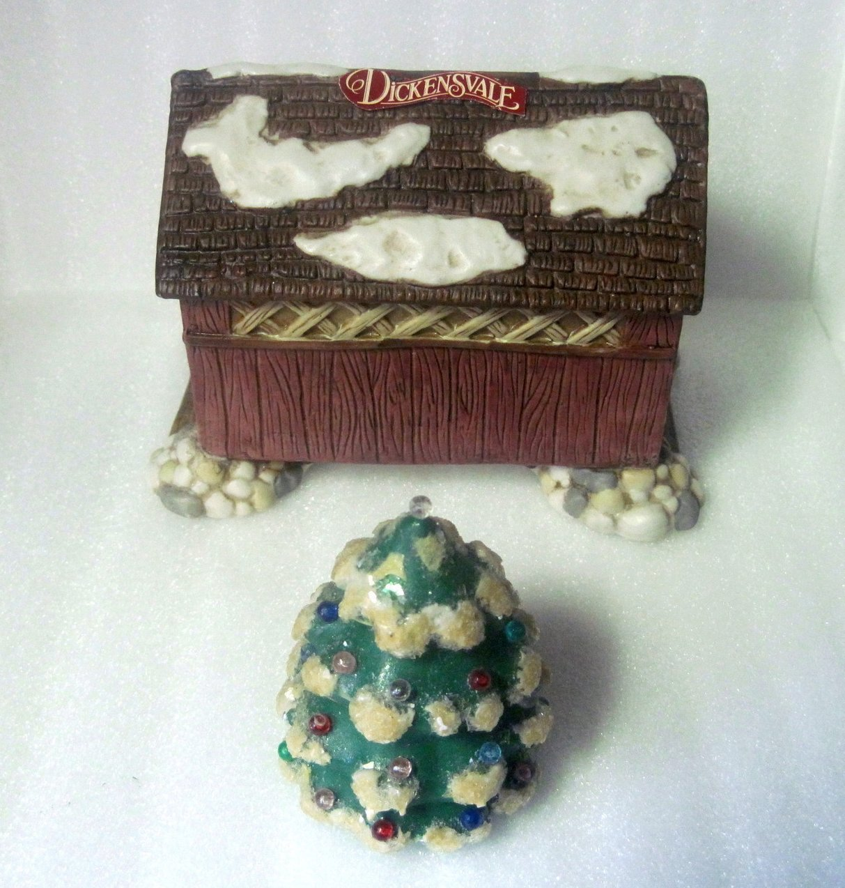 Dickensvale Porcelain Covered Bridge House of Lloyd 1992