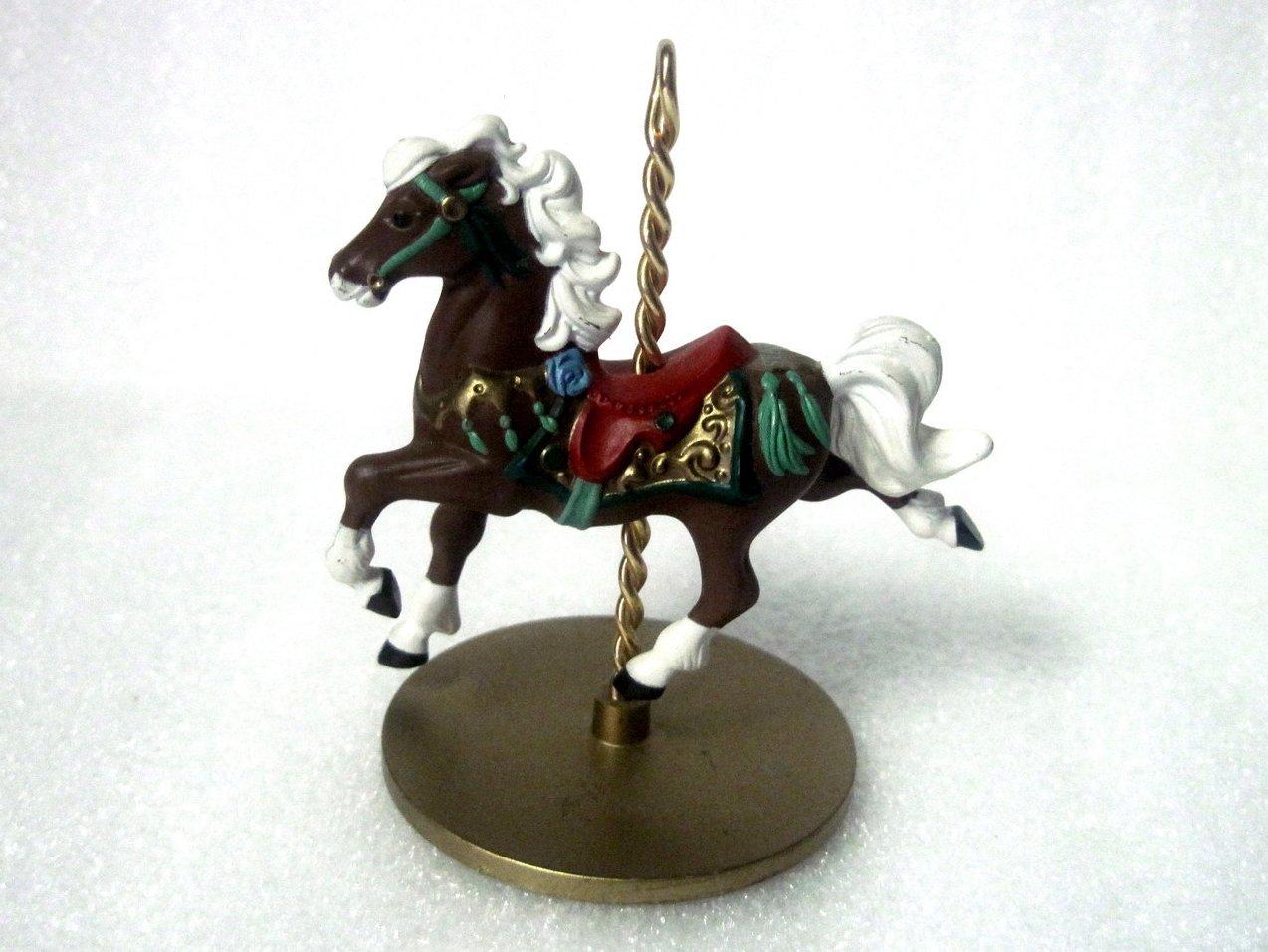 '.Star Christmas Carousel Horse.'