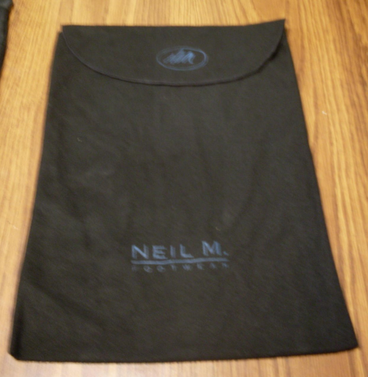 Shoe Dust Storage Bag Neil M Black Womens Lot of 5