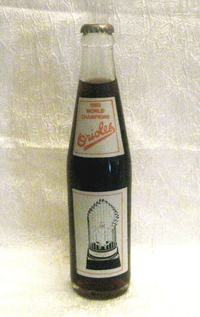 Coca Cola Orioles 1983 World Champions Collectible Bottle