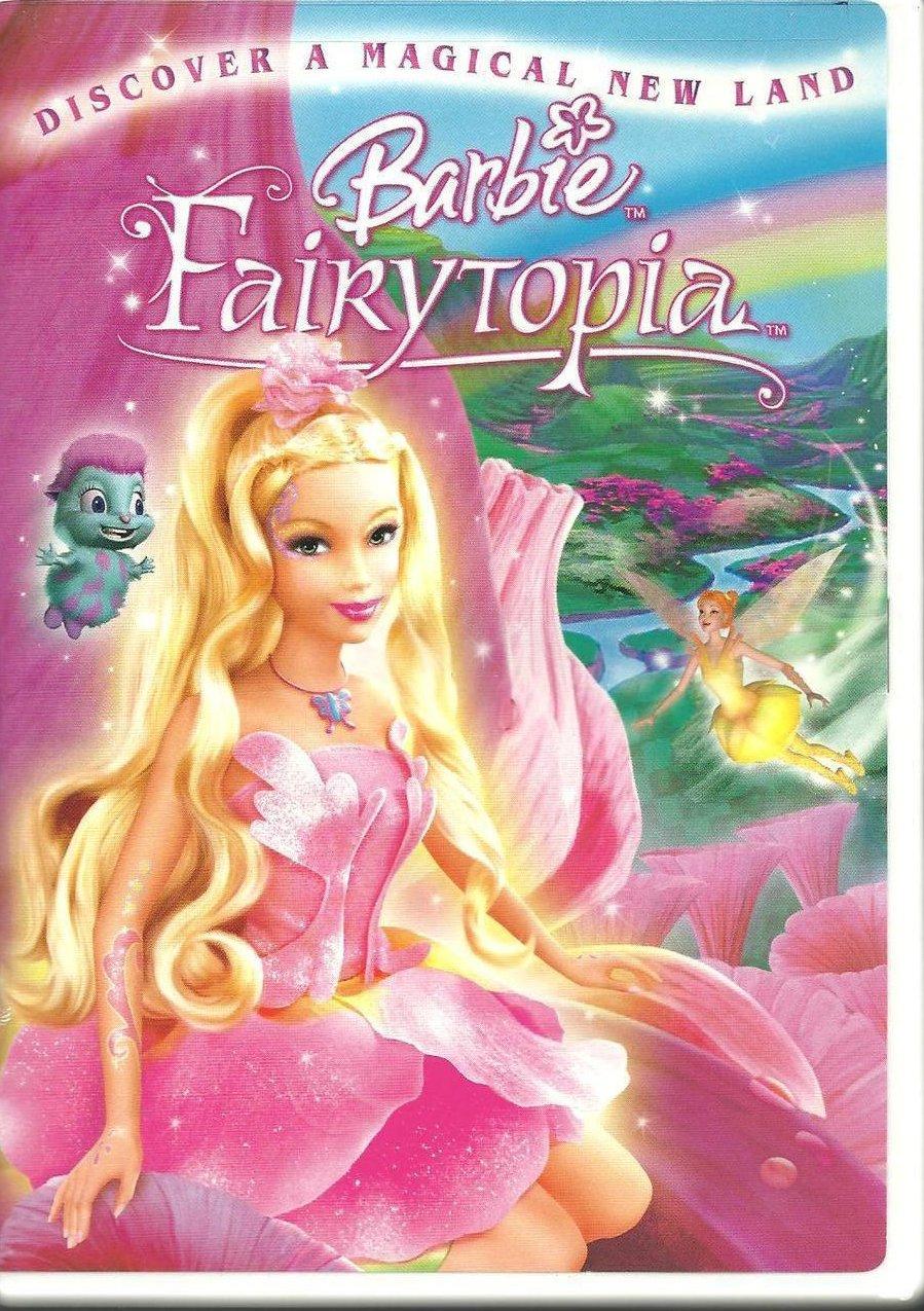 Barbie Fairytopia Childrens DVD 2005