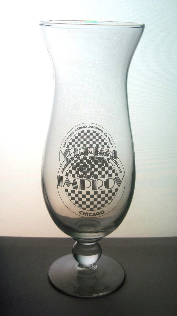 Image 3 of Improv Comedy Club Chicago Hurricane Glass 22 oz Collectible