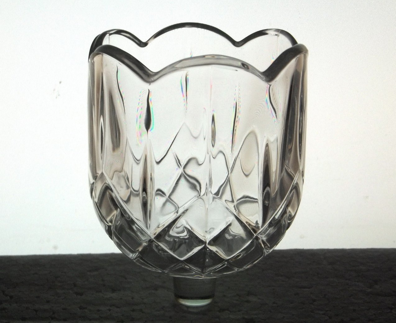 Home Interiors Peg Votive Candle Holder Elegant Scalloped