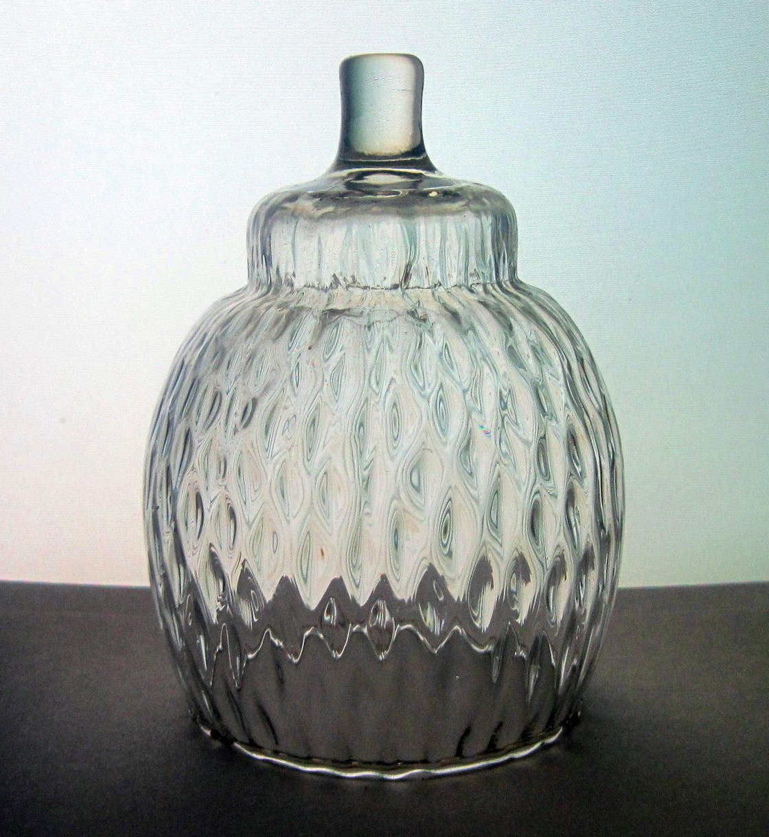Home Interiors Diamond Optic Peg Votive Candle Holder