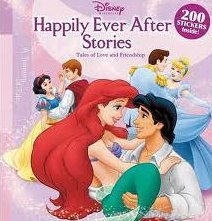 Disney Princess Happily Ever After Stories 2007 Hardcover