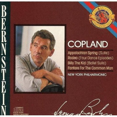 Aaron Copland Leonard Bernstein Rodeo Billy The Kid Appalachian Spring CD