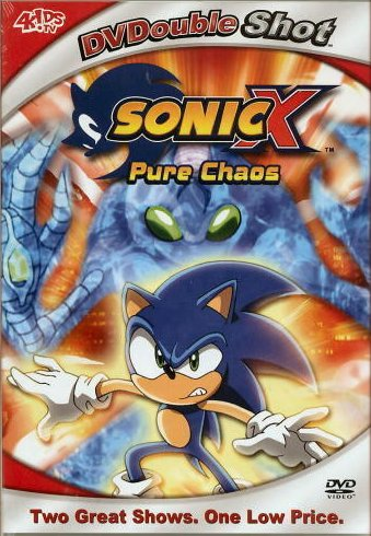 Sonic X Pure Chaos DVD