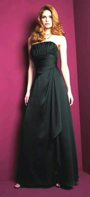 Evening Gown Jasmine Belsoie Style L9020 Black Formal 8