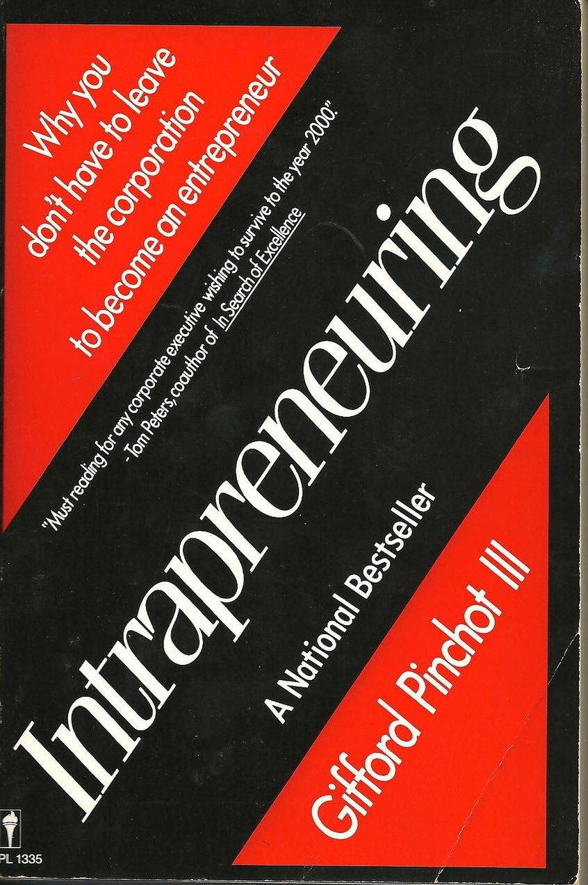 Image 0 of Intrapreneuring by Gifford Pinchot III National Bestseller