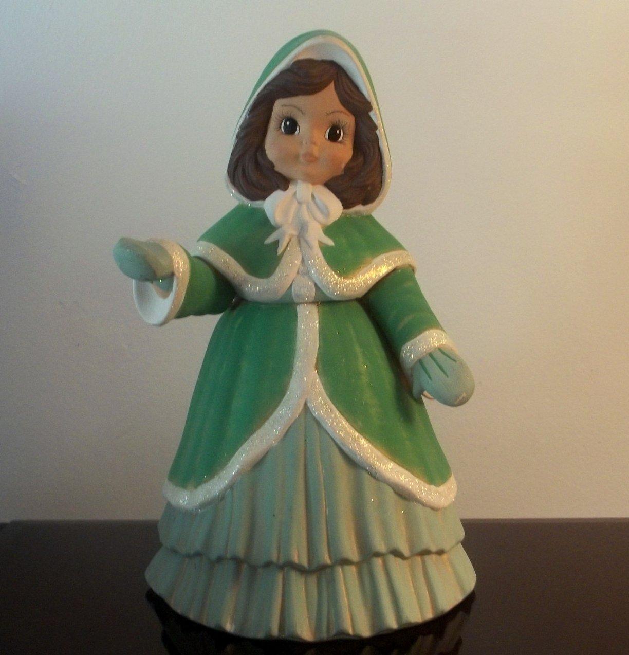 Vintage Christmas Caroler Girl Hollie 12 inches Sugarplum Collection