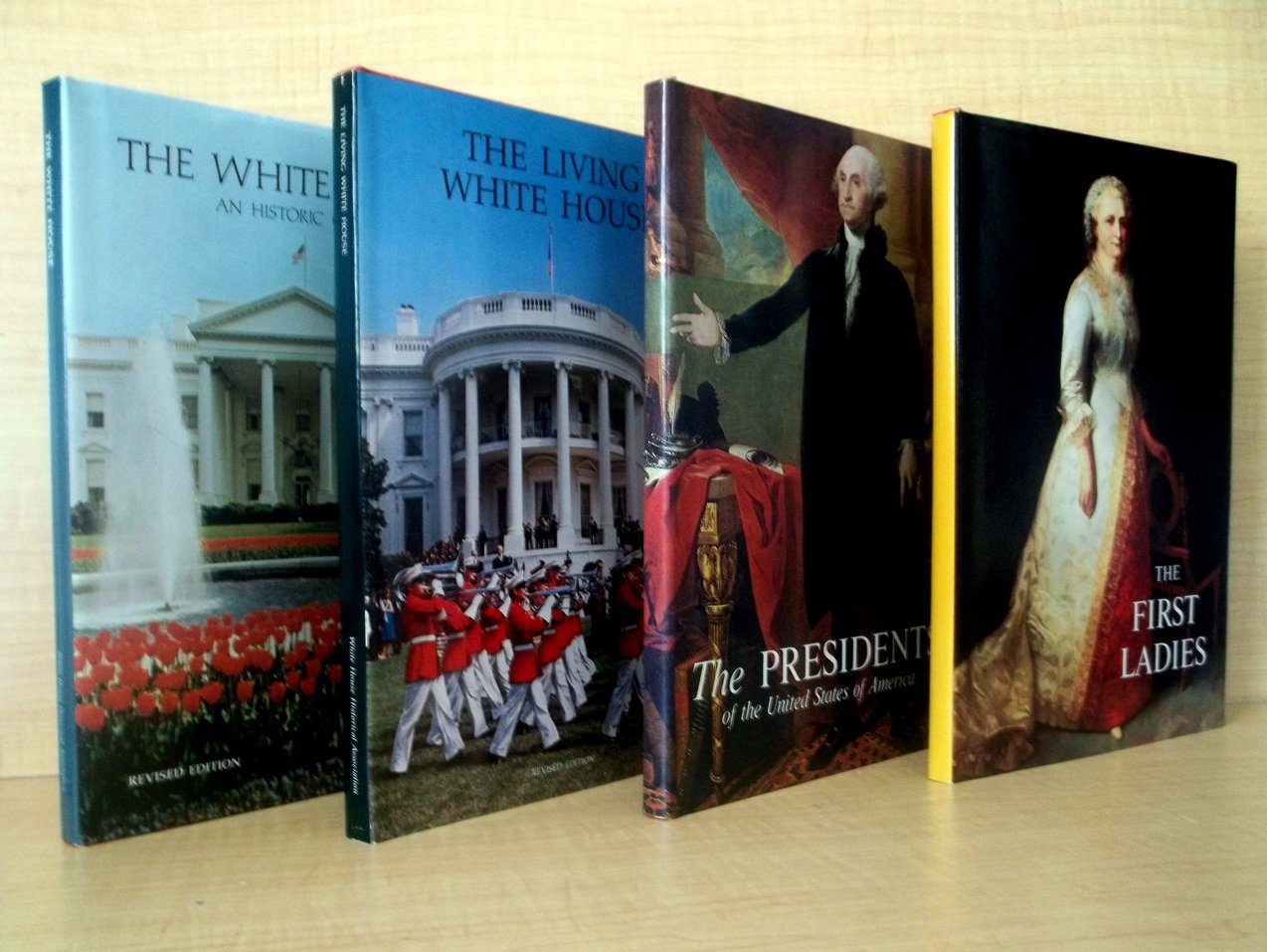 Collection of White House Books First Ladies First Edition 4 volumes