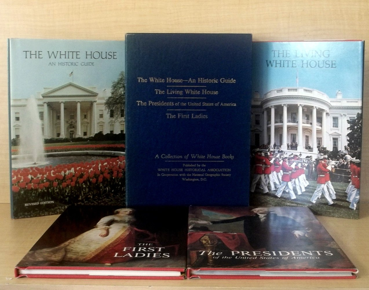 Image 1 of Collection of White House Books First Ladies First Edition 4 volumes