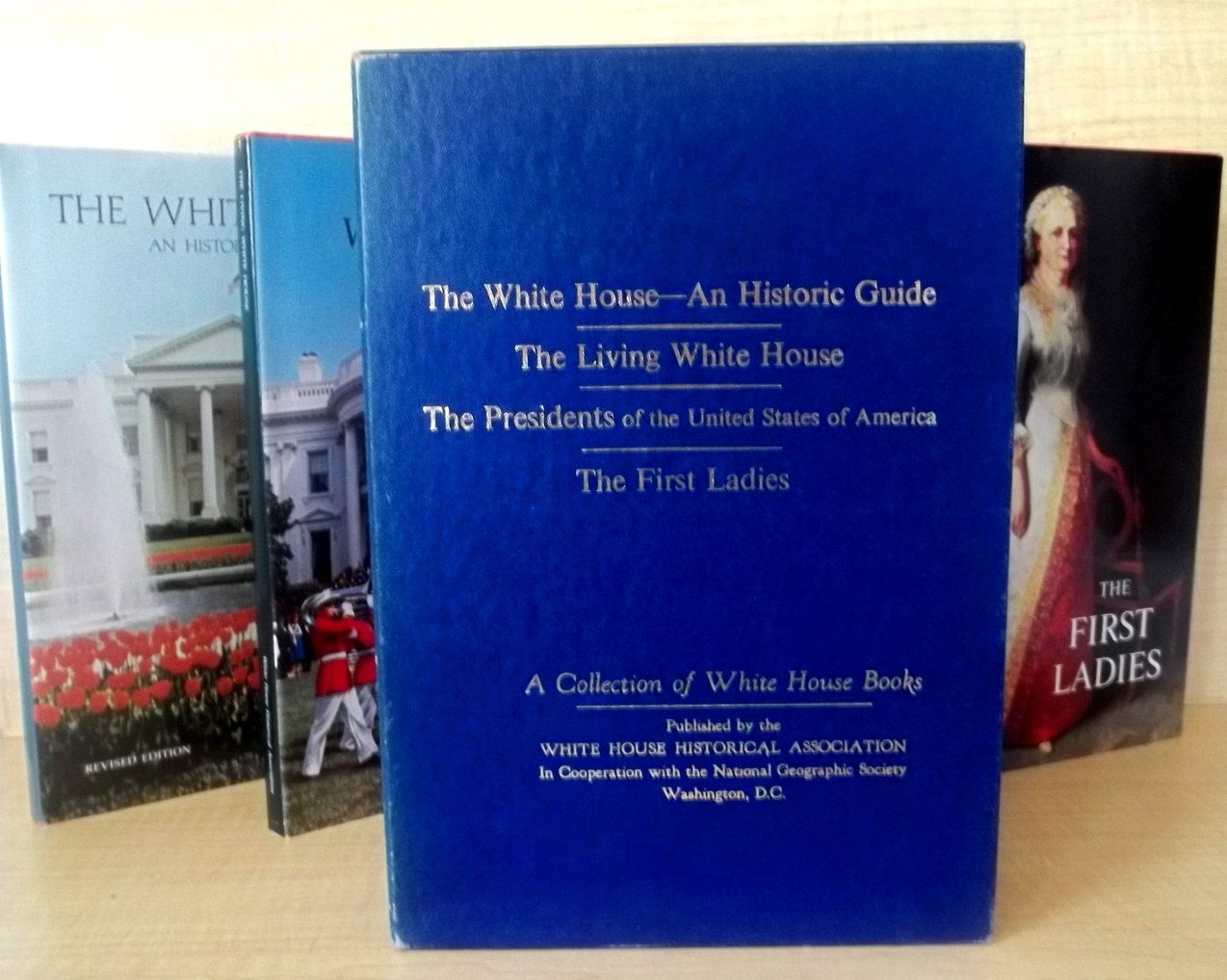 Image 2 of Collection of White House Books First Ladies First Edition 4 volumes