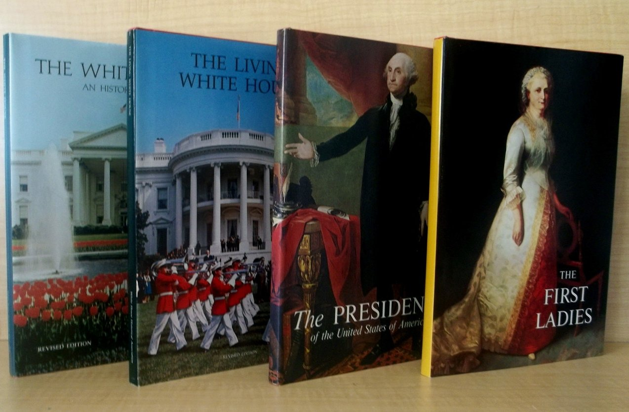 Image 3 of Collection of White House Books First Ladies First Edition 4 volumes