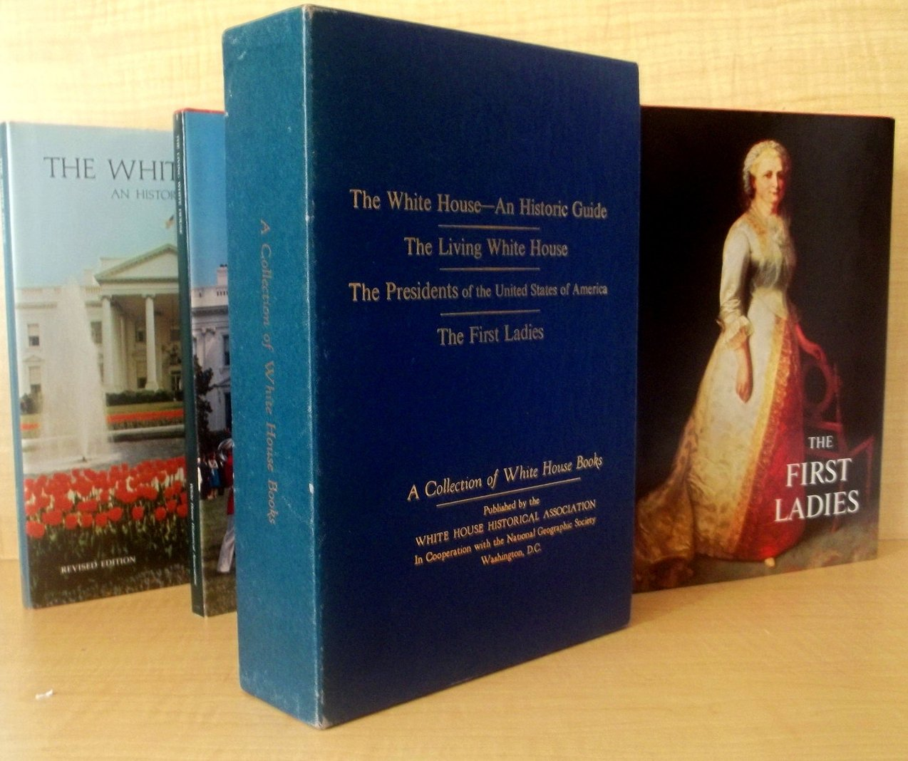 Image 4 of Collection of White House Books First Ladies First Edition 4 volumes