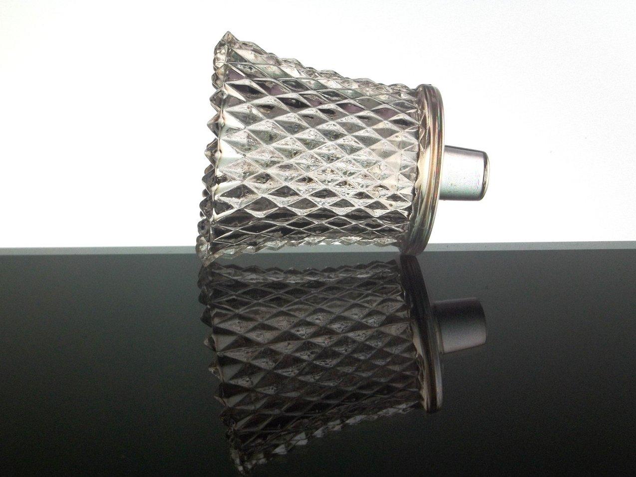 Home Interiors Peg Votive Holder Clear Diamondlite 1194