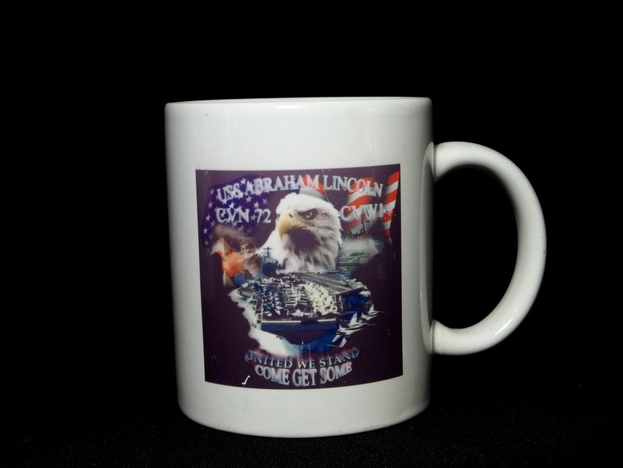 USS Abraham Lincoln CVN-72 Coffee Mug 12 Oz