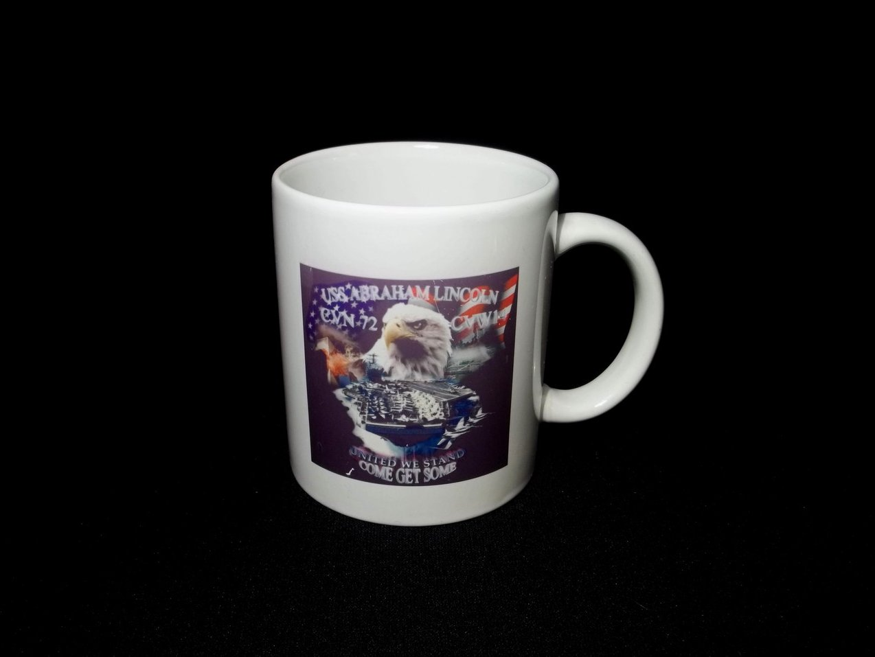 Image 3 of USS Abraham Lincoln CVN-72 Coffee Mug 12 Oz