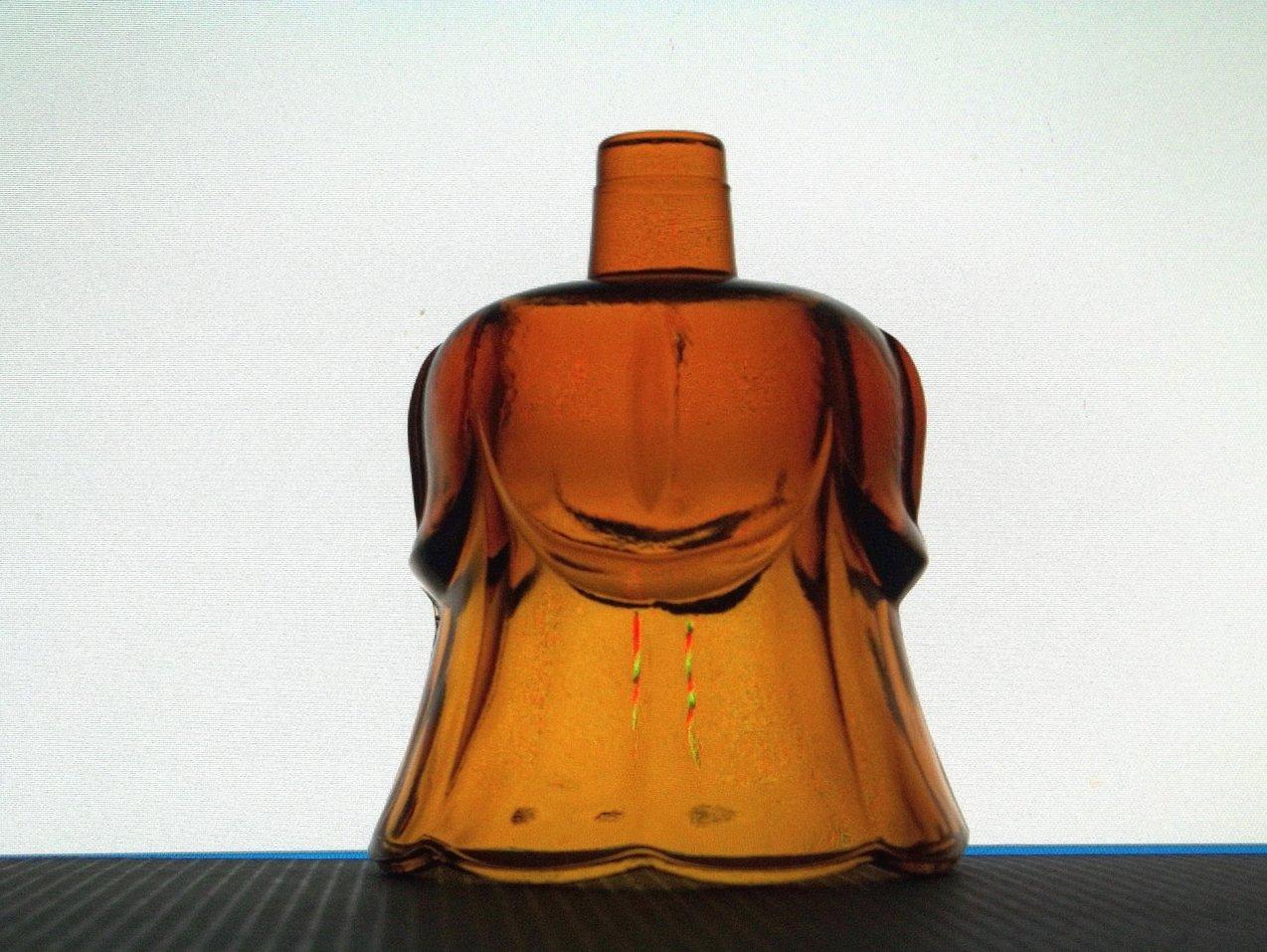 Home Interiors Peg Votive Holder Lotus Cup Amber 1197