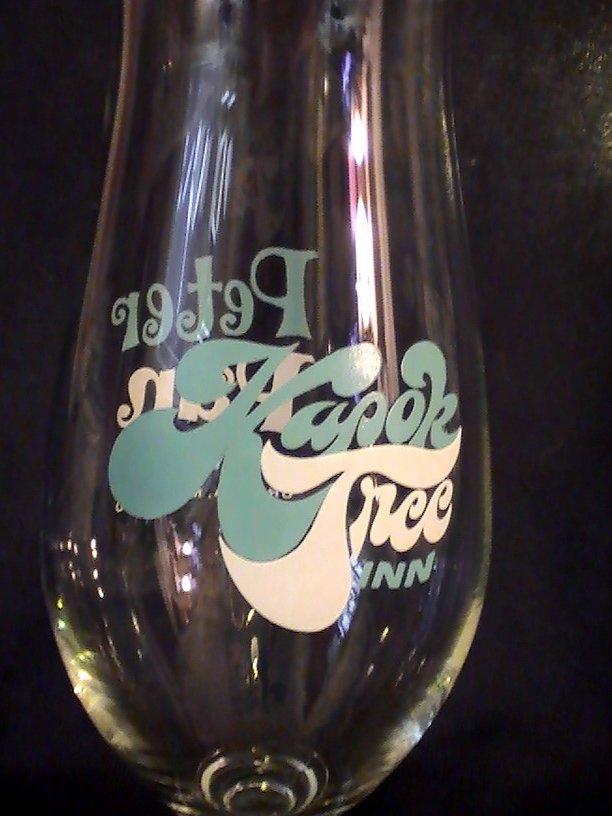 Image 3 of Kapok Tree Inn Peter Pan Inn Hurricane Glass 22 oz Ultra Rare