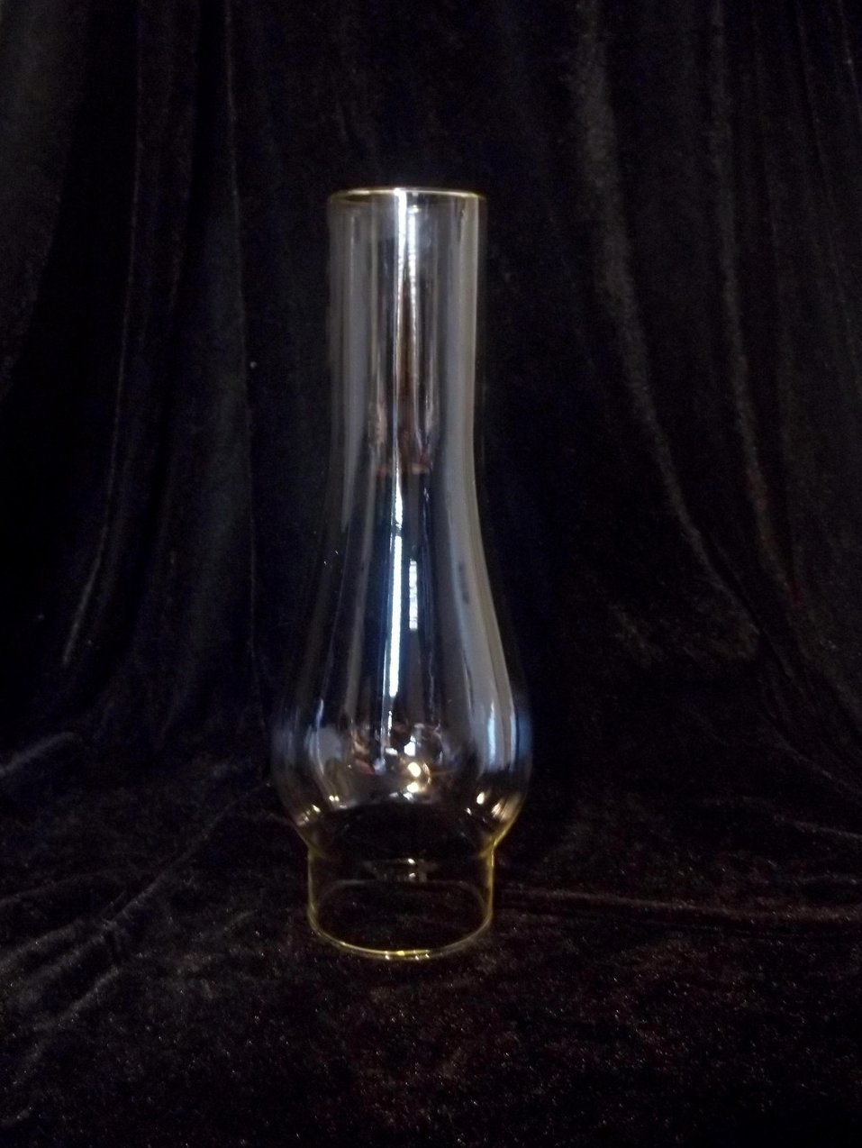 Hurricane Shade Chimney Style 2 5/8 inch fitter x 10 inch x 2