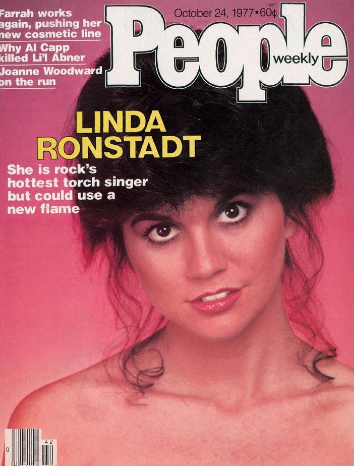 Image 0 of Vintage People Magazine Linda Ronstadt Oct 24 1977 OOS