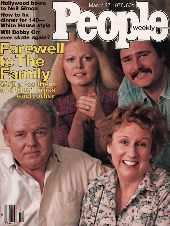 Vintage People Magazine All In the Family March 27 1978