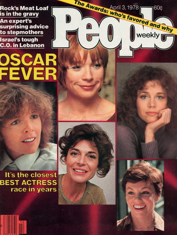 Vintage People Magazine Oscar Fever April 3 1978
