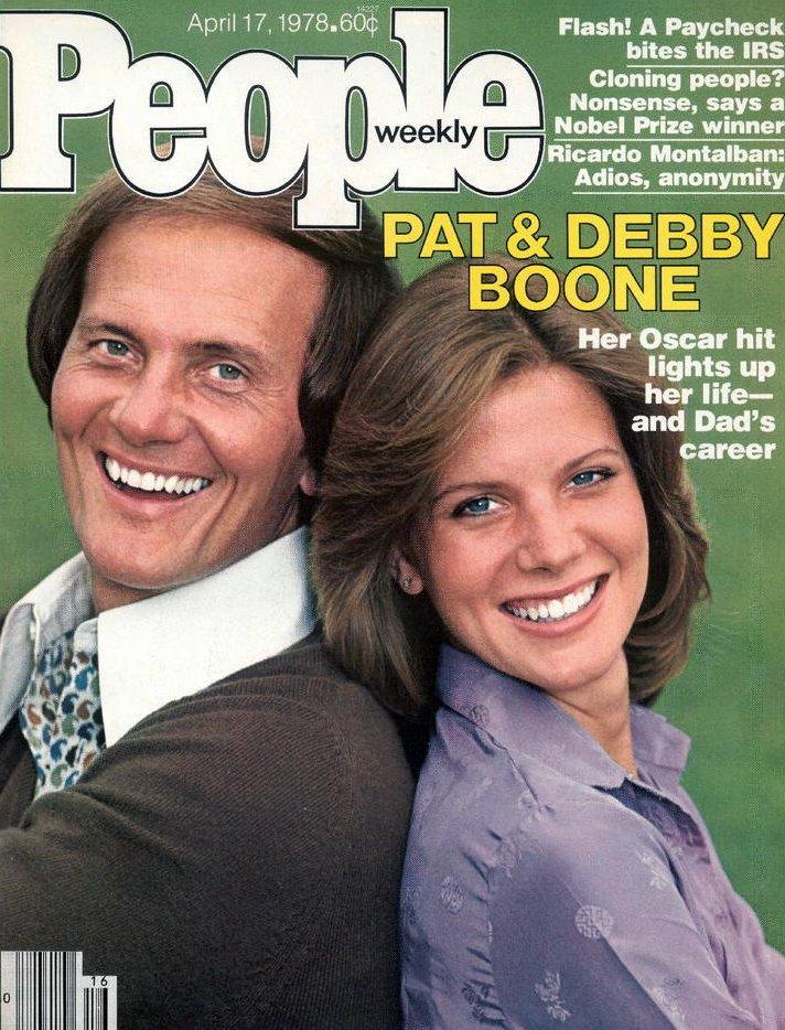 Vintage People Magazine Pat & Debby Boone April 17 1978