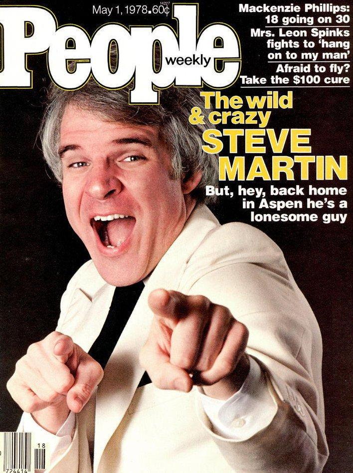 Vintage People Magazine Steve Martin May 1 1978