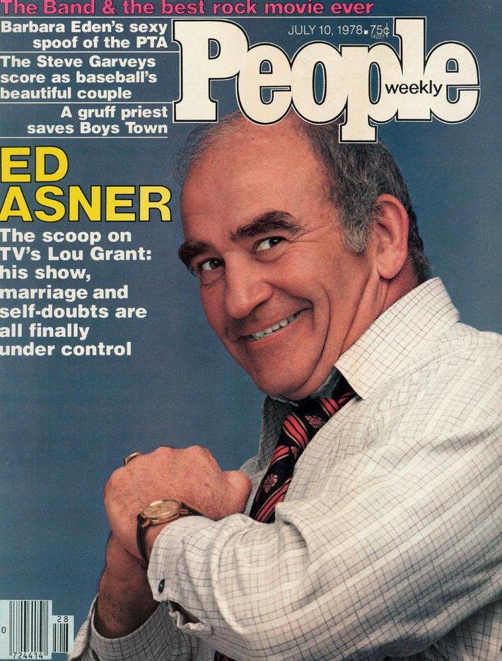 Vintage People Magazine Ed Asner July 10 1978