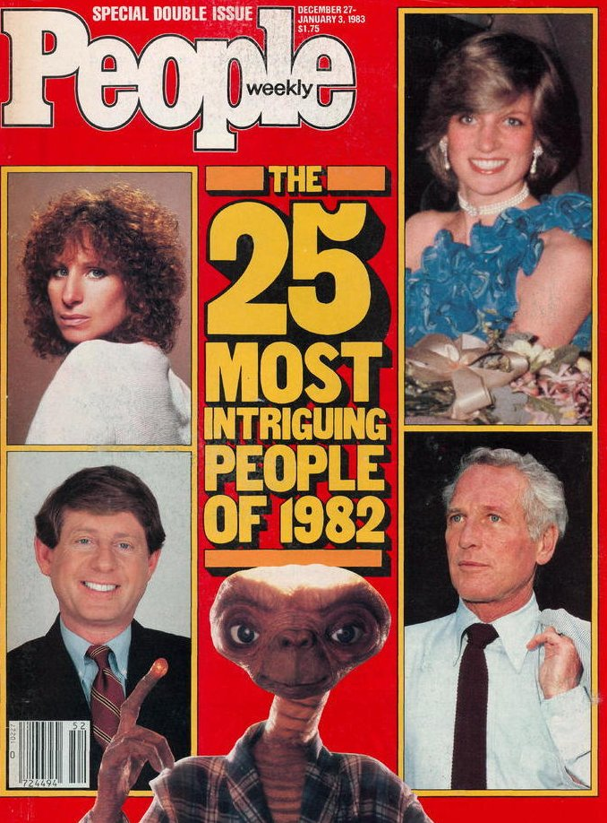 Vintage People Magazine 25 Most Intriguing of 1982 Special Double Issue