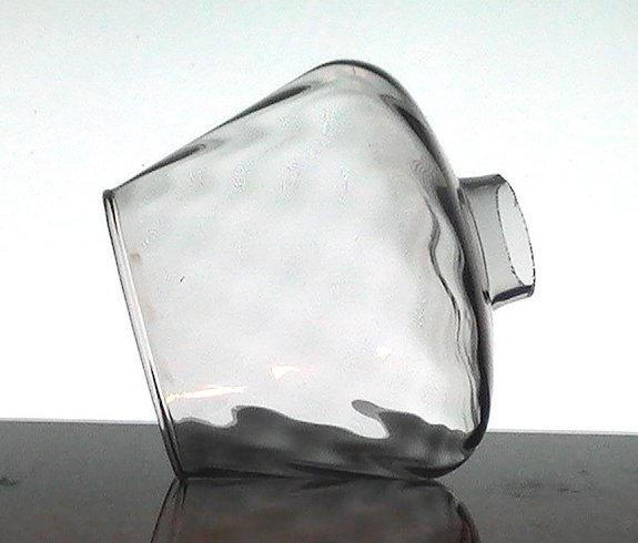 '.Glass Lamp Shade 1.75 fitter.'