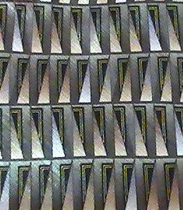 Necktie Tie Palatina Olive Geometric Print Silk