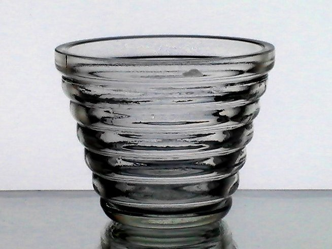 Hanging Candle Holder Cup Terraced Rings 3.5 x 2.75