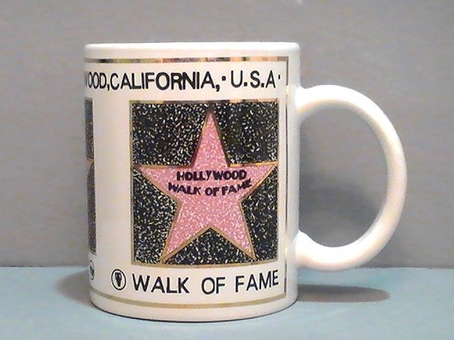 Coffee Mug Hollywood Walk of Fame Souvenir 12 Oz California