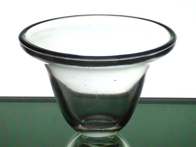 Hanging Candle Holder Cup Heavy 3 25 X 5 Replacement Glass Oos