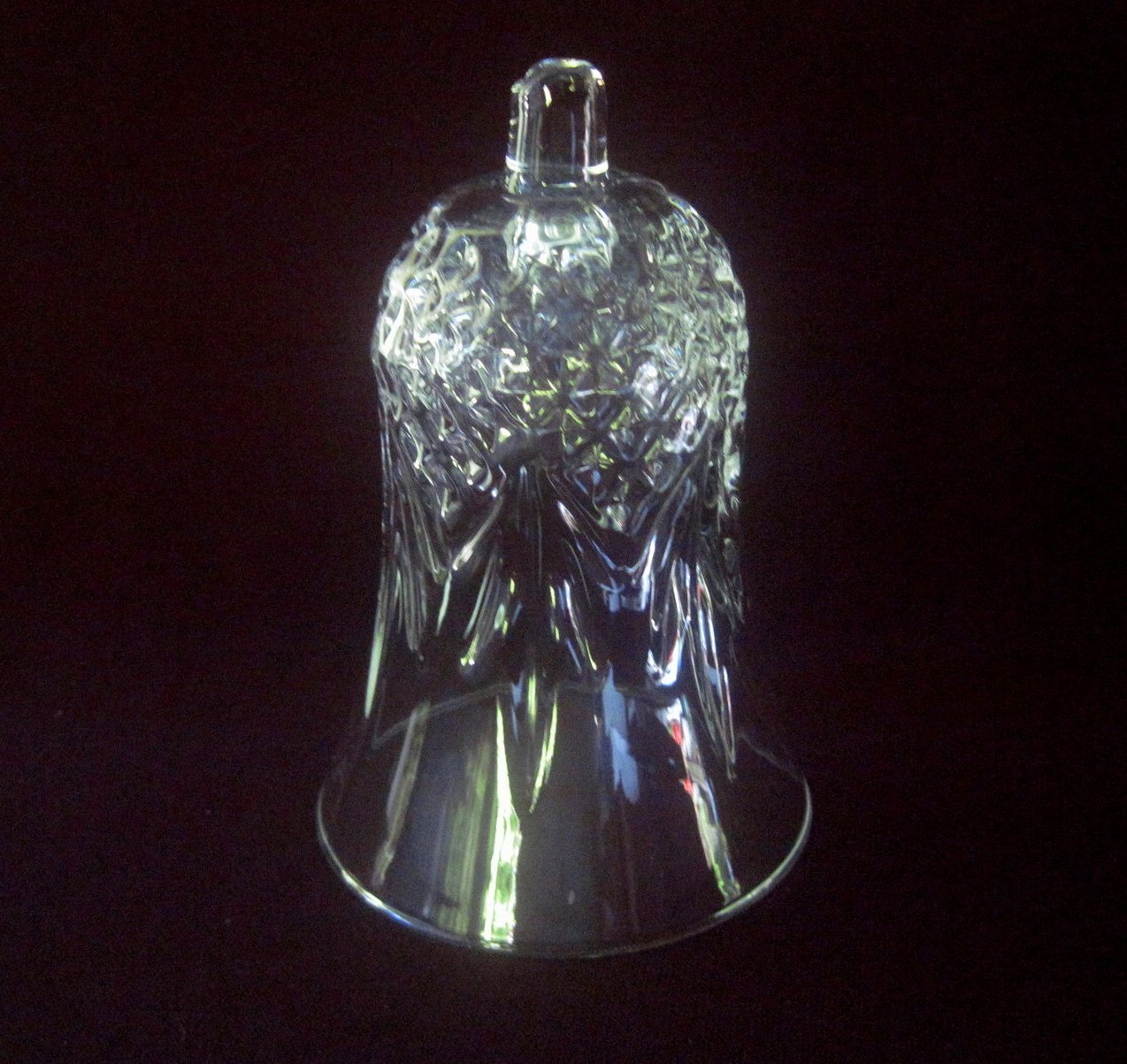Home Interiors Peg Votive Holder Crystal Windsor 11334 Med 5 inches