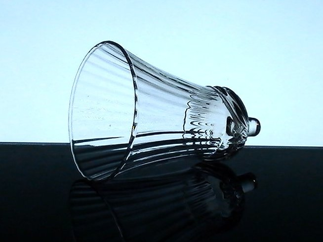 Home Interiors Peg Votive Candle Holder Clear Flared Renaissance