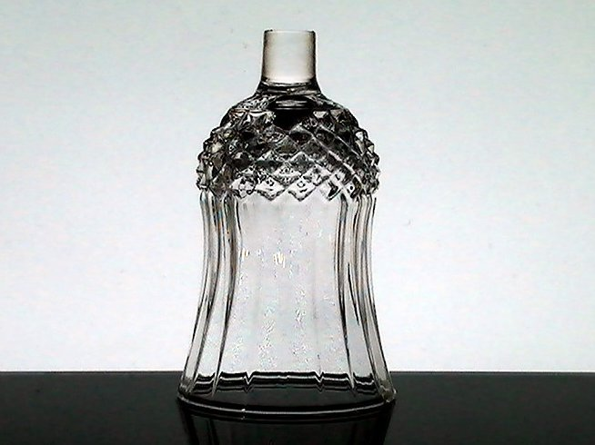 Home Interiors Peg Votive Holder Small Diamond Crystal 1241