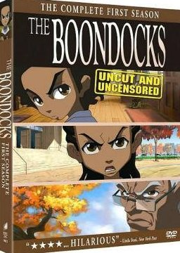 The Boondocks The Complete First Season Uncut Widescreen DVD Boxset