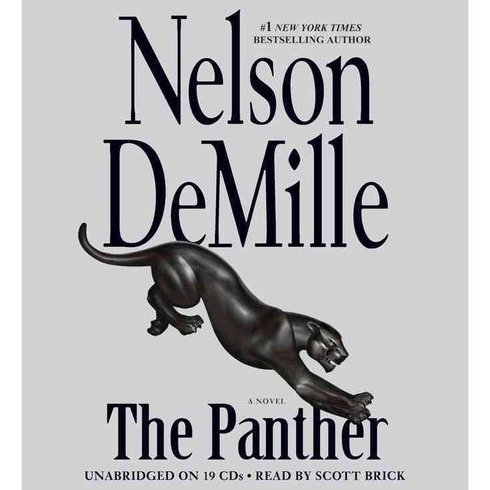 The Panther Nelson DeMille Unabridged Audio Book on CD 19 Discs