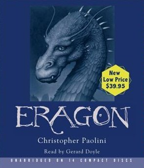 Eragon Christopher Paolini Unabridged Audio Book on CD 14 Discs