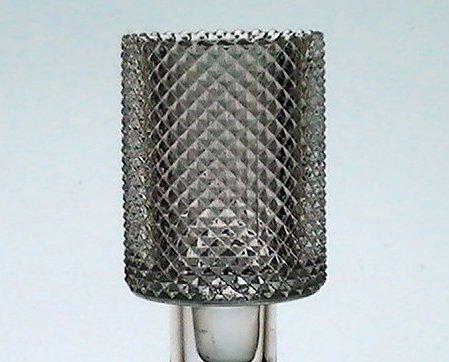 Home Interiors Peg Votive Candle Holder Clear Diamondpoint Barrel