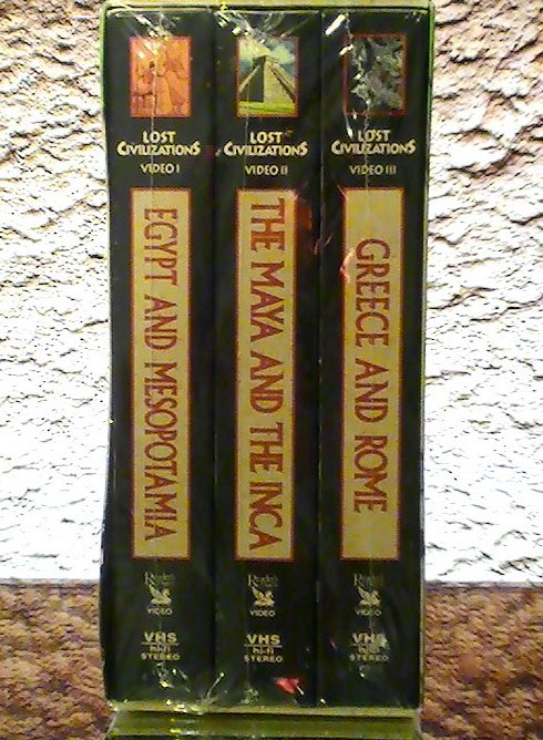 Lost Civilizations Readers Digest Time-Life VHS Box Set Historical