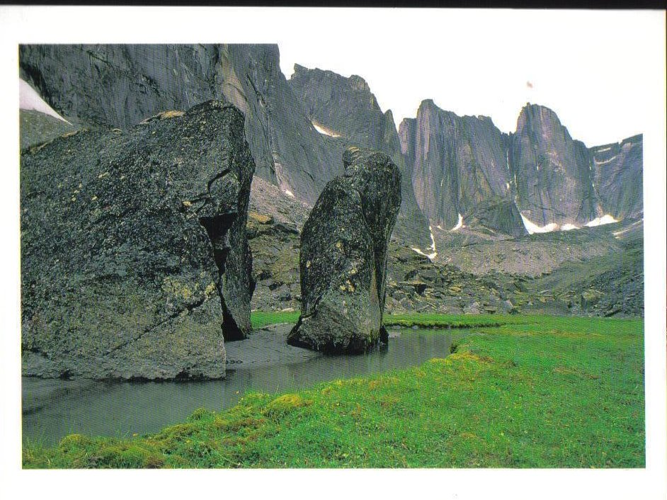 Northwest Territories Canada Postcard