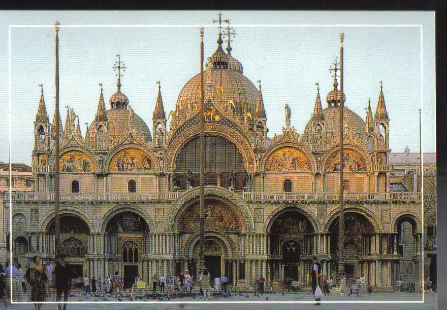 The Basilica of San Marco Italy Postcard