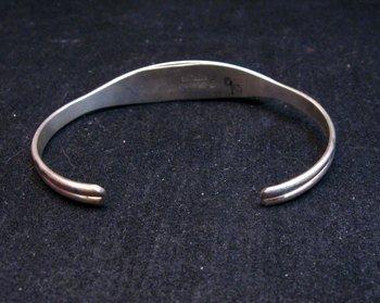 Image 2 of F. Cheama Zuni Inlay Bracelet Jewelry