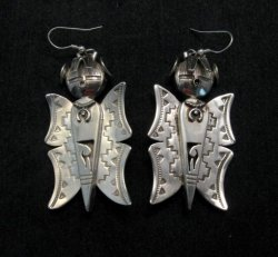 20 Silver Turquoise Butterfly Maiden Necklace/Brooch by Nelson Morgan