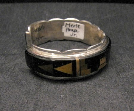 Image 1 of Merle House Navajo Monument Valley Hogan Night Sky Bracelet